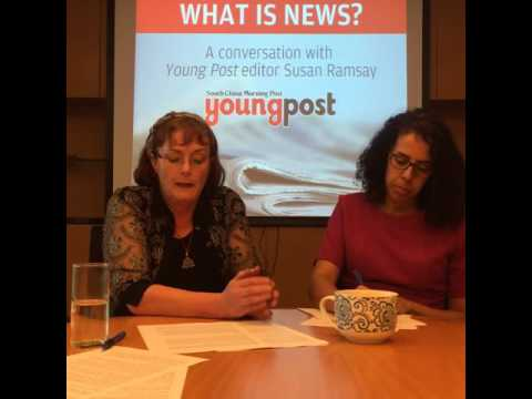 A conversation with Young Post editor Susan Ramsay on news and journalism