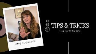 Tips & Tricks:   Looking Beyond Color