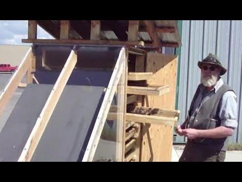 Three Solar Food Dehydrators - solar energy at work!