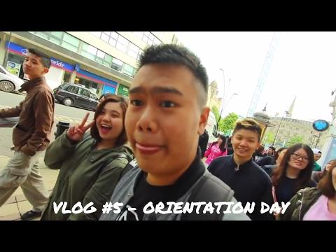VLOG #5 - Orientation Day - Sheffield Hallam University (SHU)