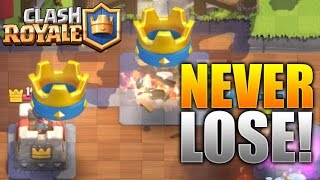 "Clash Royale - ""NEVER LOSE!"" WIN 9 RAIDS IN A ROW! Epic Beginner/Expert Strategy In Clash Royale!"