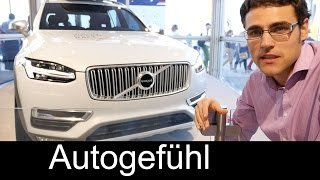 New 2015 Volvo XC90 review exterior interior & engineer interview at Volvo Ocean Race