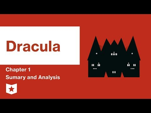 Dracula by Bram Stoker | Chapter 1 Summary & Analysis