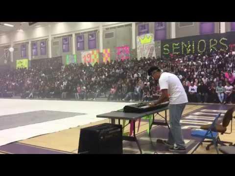 BlackLight Rally At High School Dr. Dre - Still D.R.E.ft. Snoop Dogg (Original Video)