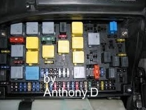 fuse problem fuse panel location  mercedes benz youtube