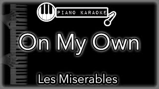 Download song On My Own - Les Miserables - Piano Karaoke Instrumental