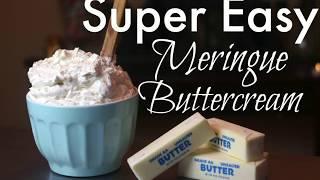 (NO HEAT) EASY MERINGUE BUTTERCREAM TUTORIAL    Janie's Sweets