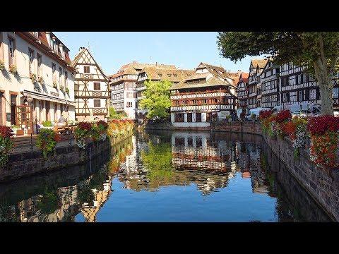 Strasbourg, Alsace, France in 4K Ultra HD