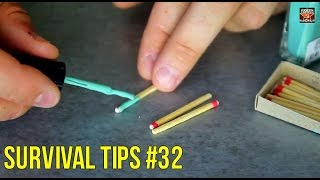 How to Make Waterproof Matches - Zombie Survival Tips #32
