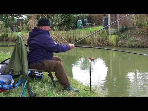 Easy Fishing Ledgering with a Whip