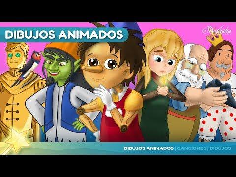 Pinocho y 5 animado en Español | Cuentos infantiles para dormir