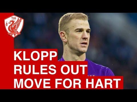 Jurgen Klopp rules out Liverpool move for Joe Hart