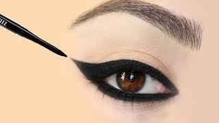 7 Different Kajal Eye Look | 7 अलग काजल लुक | How to Apply Thick Kajal | shikhas corner
