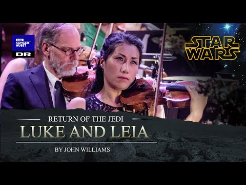 Star Wars - Luke and Leia // The Danish National Symphony Orchestra (Live)