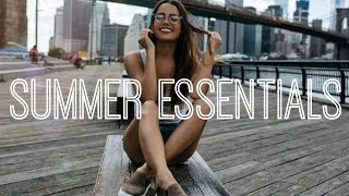 SUMMER ESSENTIALS | Beauty, Fashion & Lifestyle Favorites!