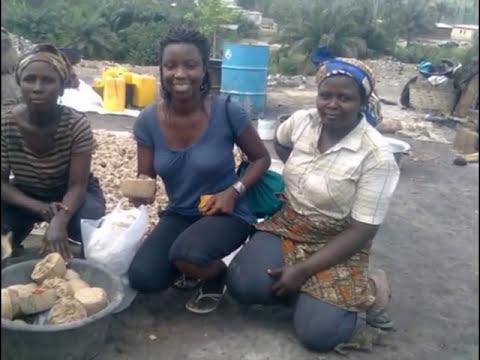 African Black Soap Factories In Ghana