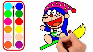 Learn to Doraemon Drawing and Coloring for Kids | PP Kids