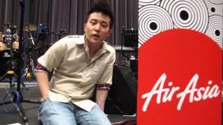Video Exclusive: David Choi flies (& sings) with AirAsia download MP3, 3GP, MP4, WEBM, AVI, FLV Juli 2018