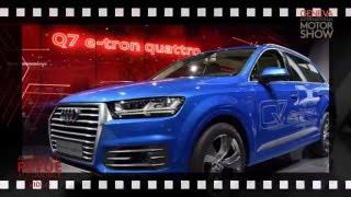 Salon de l´automobile Genève 2016: Audi
