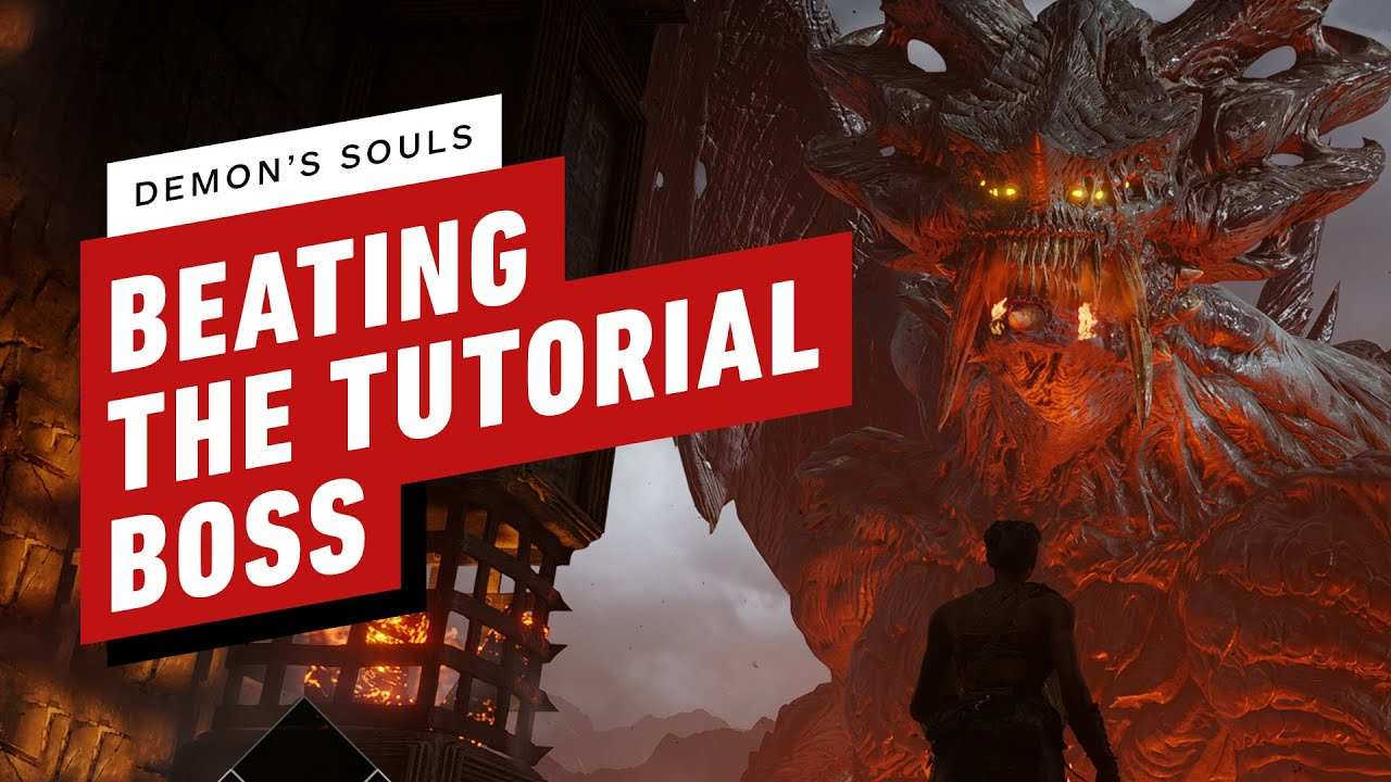 Demon's Souls: Beating the Tutorial Boss You're Supposed to Die To