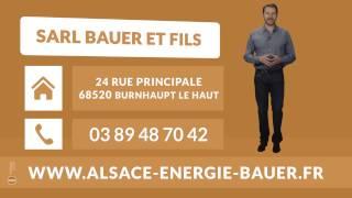 SARL BAUER ET FILS : Chauffage et climatisation à BURNHAUPT LE HAUT 68