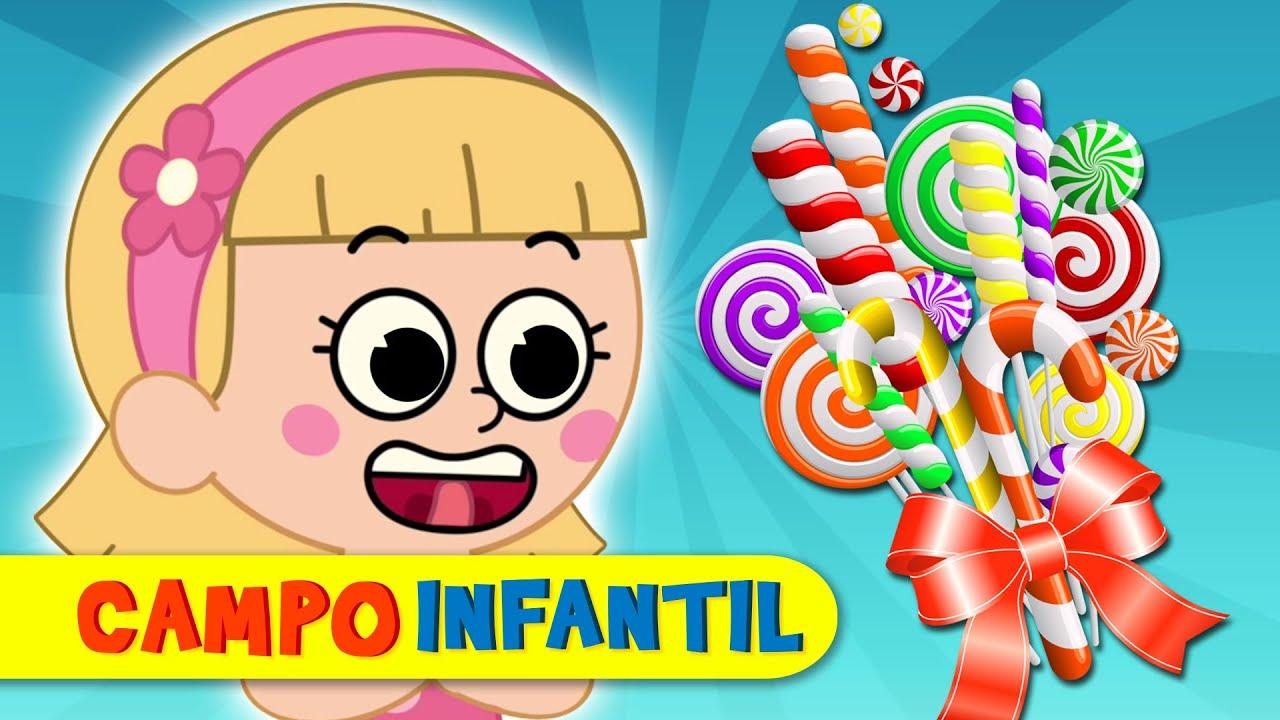 Cosas ricas de colores con Elly y Eva - Canciones infantiles divertidas | Campo Infantil