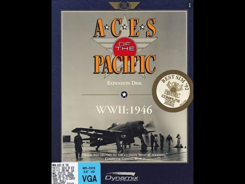 Aces of the Pacific 1946 PC DOS Mission Plays Ki-83s