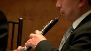 Avance del recital de flauta, oboe, clarinete, corno y fagot