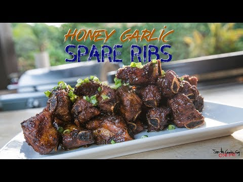 Honey Garlic Spare Ribs   SAM THE COOKING GUY 4K