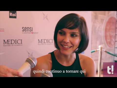 "Annabel Scholey presenta la sua Contessina in  ""Medici -Masters of Florence"""