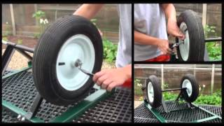 How To Assemble An Ez-haul 4-wheel Garden Cart