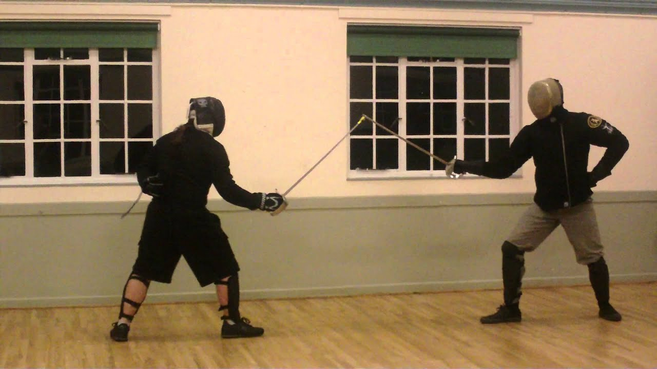 Military sabre fencing - Sword fighting classes in London