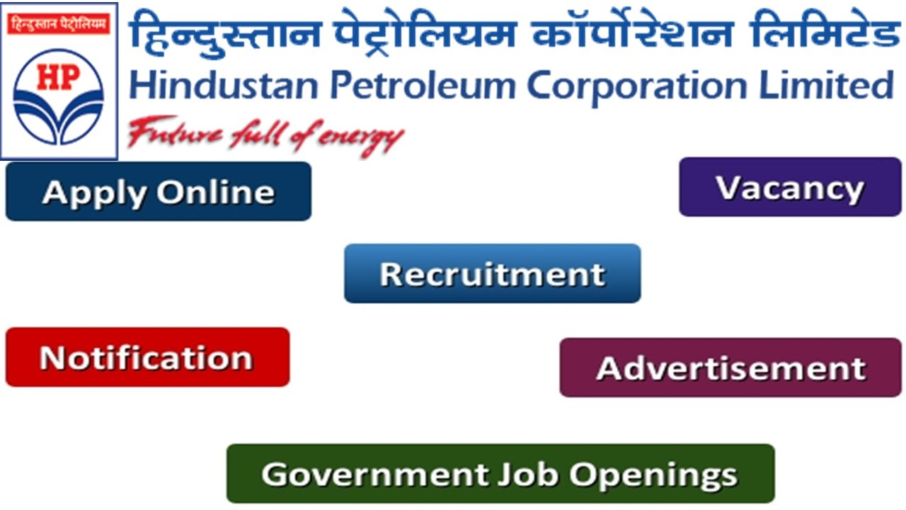 Hindustan Petroleum Recruitment Apply Online Notifications