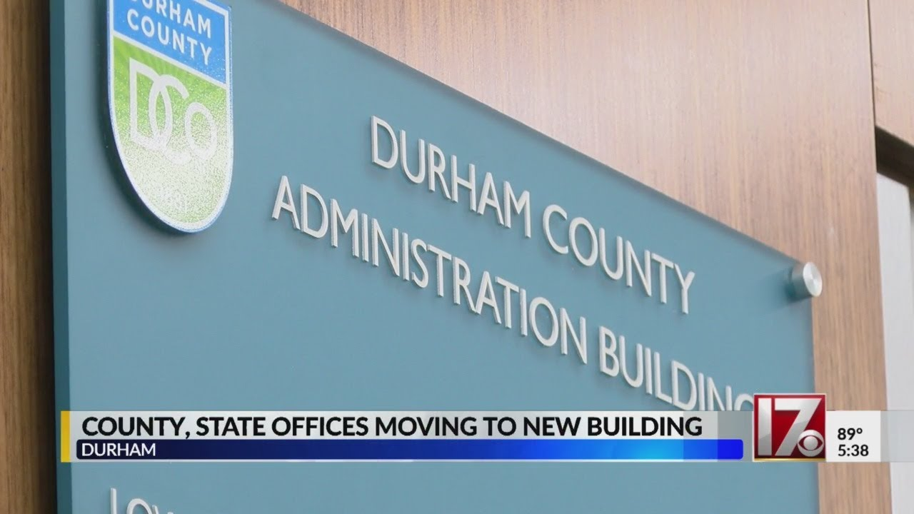 Durham County Register Of Deeds Moves To New Office Youtube