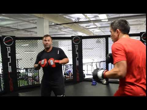 Justin Buchholz Rear Upper Cut Technique with Robert Meese