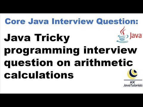 Java Tricky programming interview question on arithmetic calculations[Important Interview Question] thumbnail
