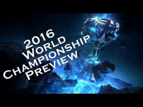 2016 League of Legends World Championships Preview