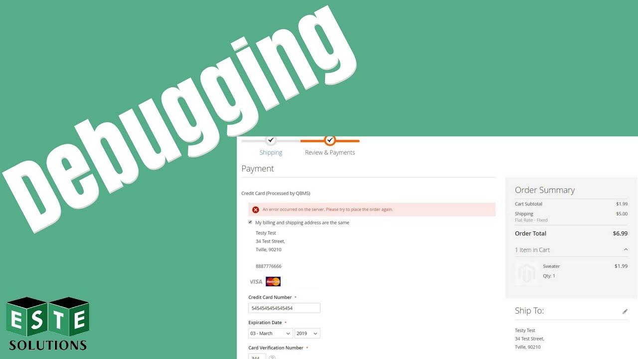 Magento 2 Extension Setup: Intuit QuickBooks Merchant