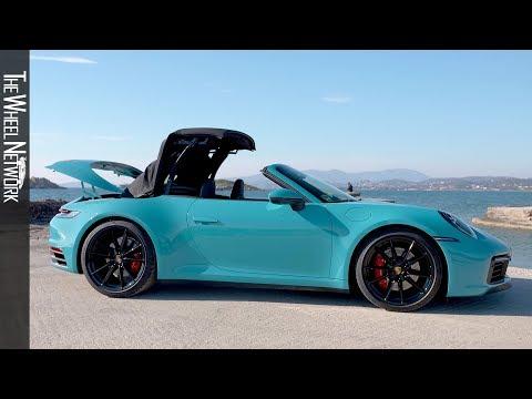2020 Porsche 911 Carrera S Cabriolet   Miami Blue   Exterior, Interior