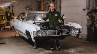 Restoration of the 1967 Impala. Part 2. Car from Supernatural!