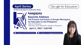 April Series | Keynote Address: Present and Future of Google Workspace for Education