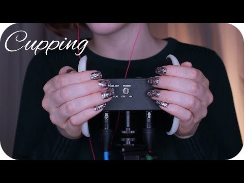 ASMR Pure Ear Cupping (With & Without Lotion) // No Talking