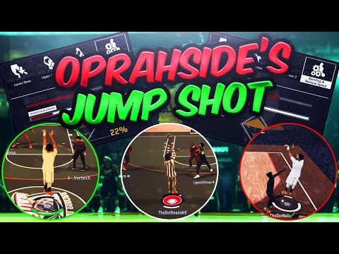 SHOOTING WITH OSN'S REAL LIFE JUMPER IN NBA 2K17!!! UGLIEST JUMPSHOT IN NBA 2K17