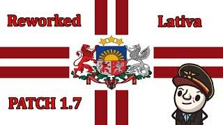 HoI4 - Reworked Latvia 1.7 - Strong, Stronger, LATVIAN - Thunder Cross Empire - Part 1