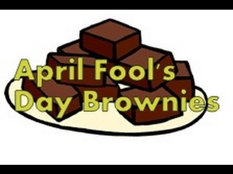 April Fool's Day Brownies