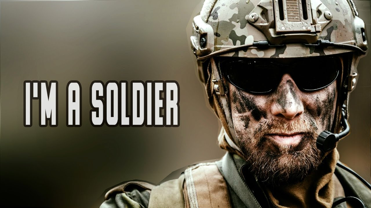 "I'm a soldier - ""Savior"" 