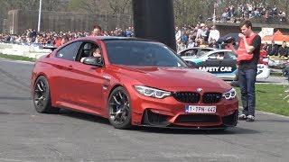 600HP BMW M4 F82 w/M Performance - Powerslides, Revs, DRAG RACE