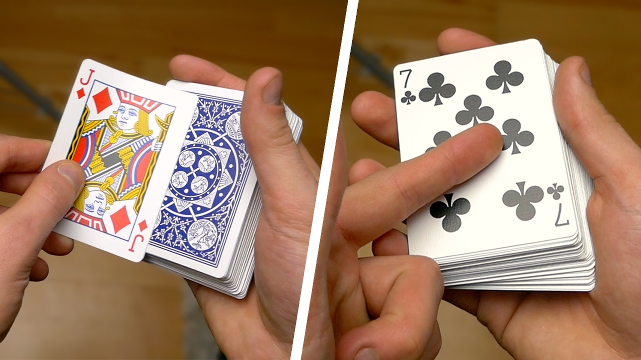 Color game trick - Flip Color Change Card Trick Tutorial