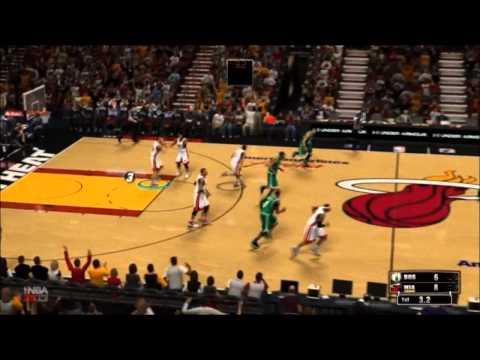 NBA 2K13: Association Game 1 - Celtics at Heat (part 1 of 2)