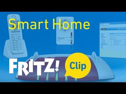 FRITZ! Clip – Smart Home con la toma de corriente inteligente y FRITZ!Box -- manejar y medir